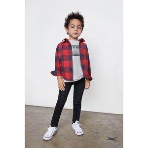 Bing kids NWOT Flannel Top